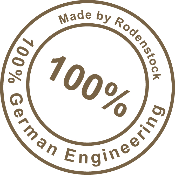 Rodenstock Logo 100 prozent